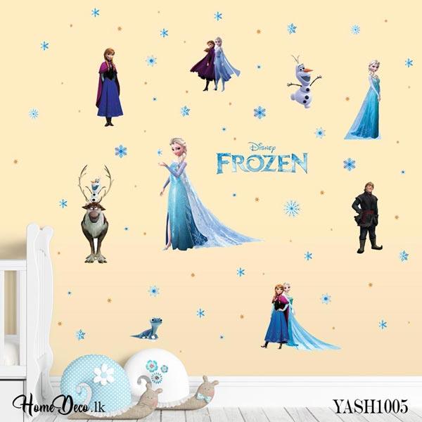 Frozen Cartoon Wall Sticker - YASH1005