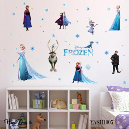 Frozen Cartoon Wall Sticker - YASH1005