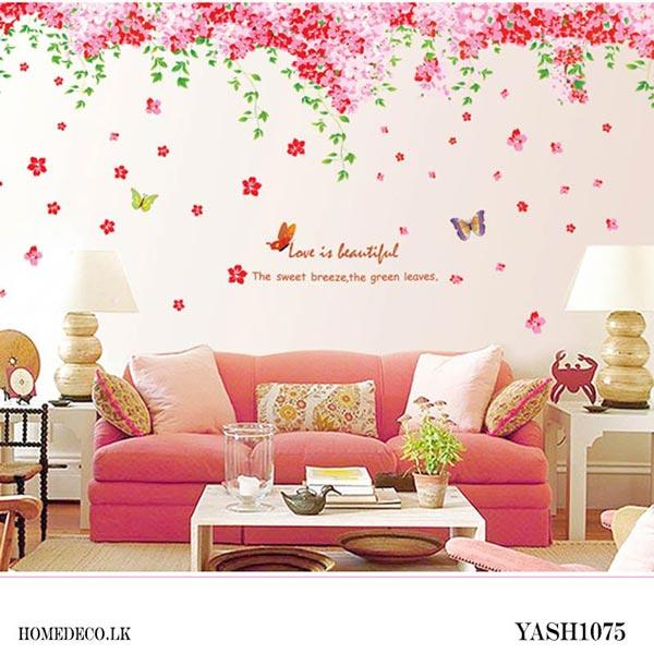 Blossom Flower Wall Sticker - YASH1075