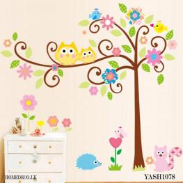 Cute Tree Kids  wall Sticker - YASH1078