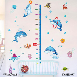 Dolphin Height Measure Design - YASH1087