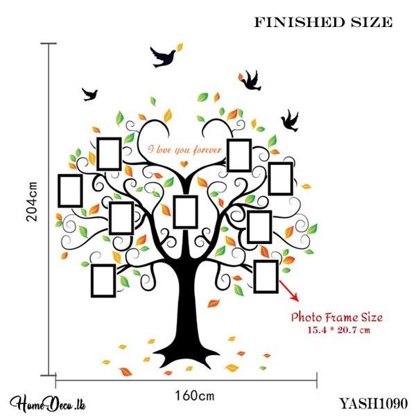 Photo Frame Tree Sticker - YASH1090