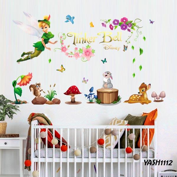 Tinkerbel Kids Wall Sticker - YASH1112