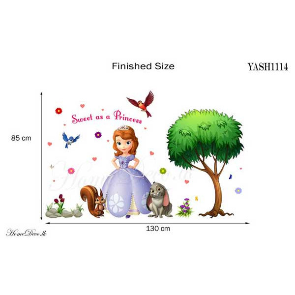Princess Sofia Wall Sticker - YASH1114