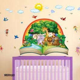 Jungle Animal Wall Sticker - YASH1120