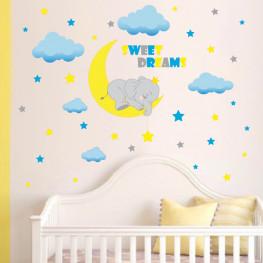 Sweet Dreams Baby Sticker - YASH1124