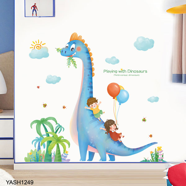 Play Dinosaur Wall Sticker - YASH1249