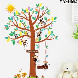 Tree Height Measure Sticker - YASH682
