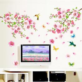 Blossom Flowers Wall Sticker - YASH693