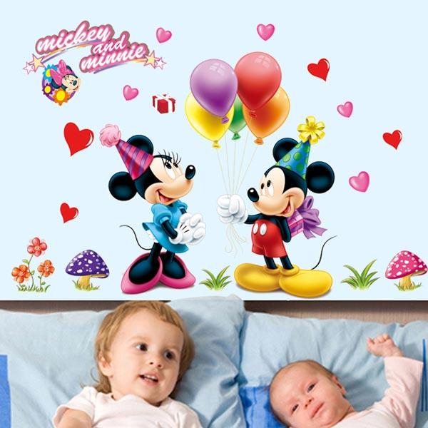 Mickey Mouse Wall Sticker - YASH695