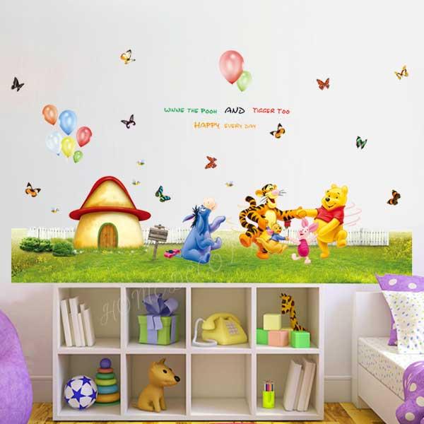 Winnie the Pooh Wall Sticker - YASH702