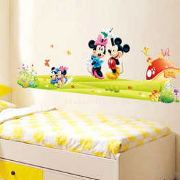 Mickey Mouse Wall Sticker - YASH717