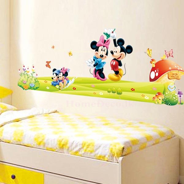 Mickey Mouse Wall Sticker - YASH717