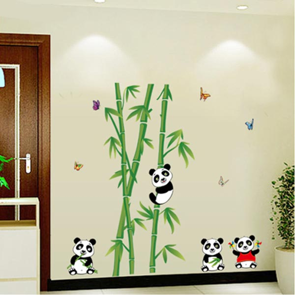 Baby Panda Kids Wall Sticker - YASH720