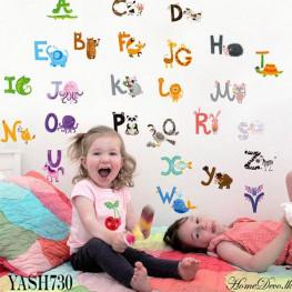 Alphabet Kids Wall Sticker - YASH730