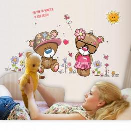 Teddy Bear Kids Wall Sticker - YASH733