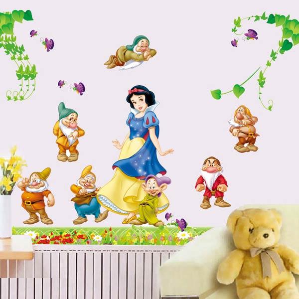 Snow White Kids Wall Sticker - YASH757