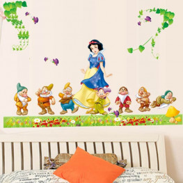 Snow White Kids Wall Sticker - YASH757