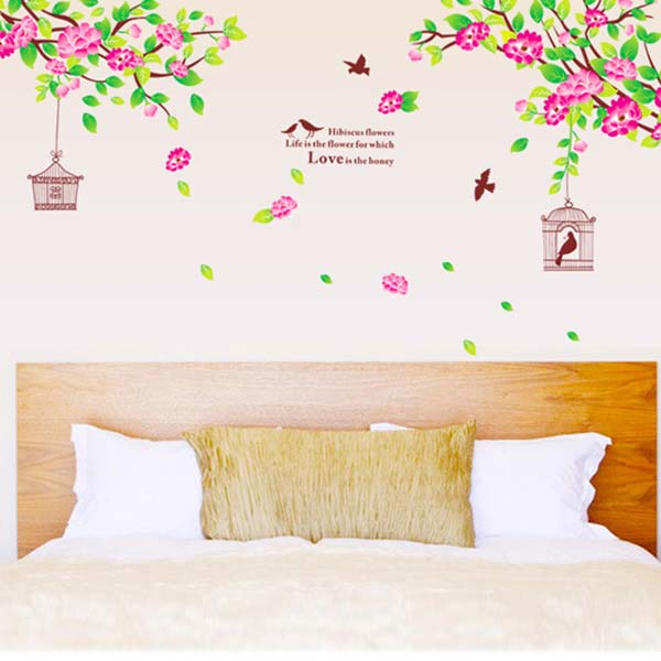 Flower Branches Wall Sticker - YASH785