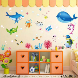 Sea Animal Wall Sticker - YASH816