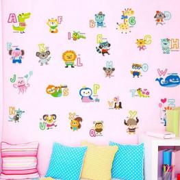 English Alphabet Wall Sticker - YASH824