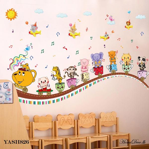 Musical Train Wall Sticker - YASH826