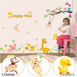 Dino and Friends Wall Sticker - YASH848