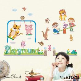 Kids Play Ground Wall Sticker - YASH874