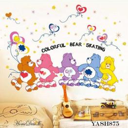 Care Bear Kids Wall Sticker - YASH875