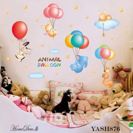Animal Flying Kids Wall Sticker - YASH876