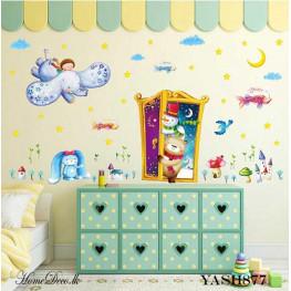 Christmas Theme Wall Sticker - YASH877