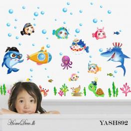 Nemo Fish Wall Sticker - YASH892