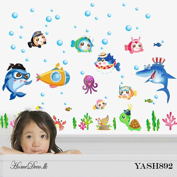 Nemo Fish Wall Sticker - YASH892