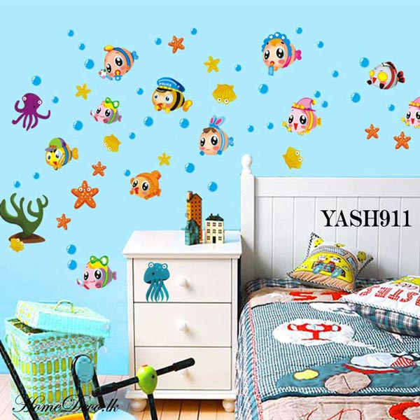 Nemo Fish Kids Wall Sticker - YASH911