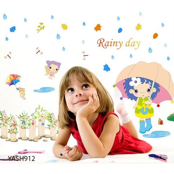 Rainy Day Wall Sticker - YASH912
