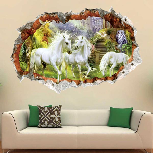 Unicorn Wall Sticker - YASH915
