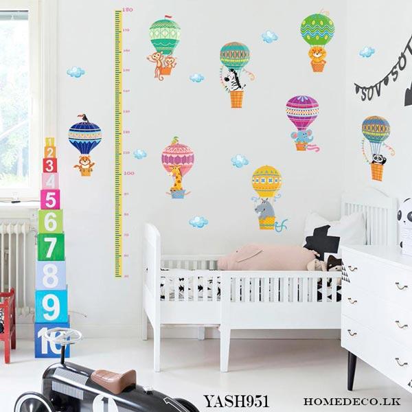 Hot Air Balloons Wall Sticker - YASH951