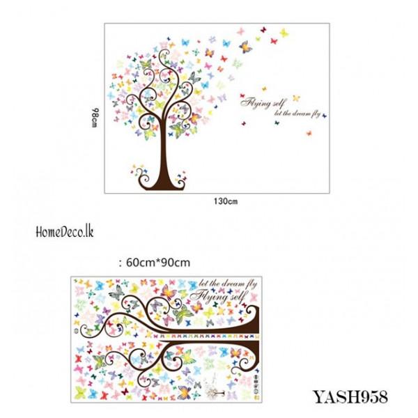 Butterfly Tree Wall Sticker - YASH958