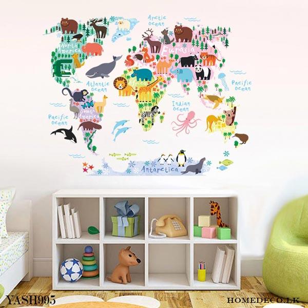 Continental wall Sticker - YASH995