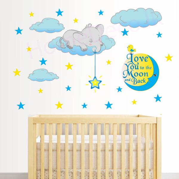 Baby Room Nursery Wall Sticker - C1034