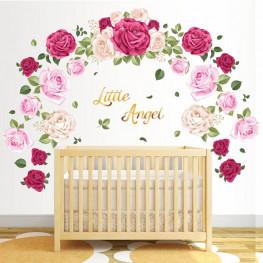 Roses Nursery Wall Sticker - C1035