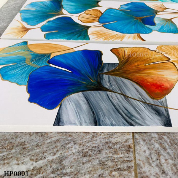 Hand Painted Canvas Acrylic Wall Art - HP0001